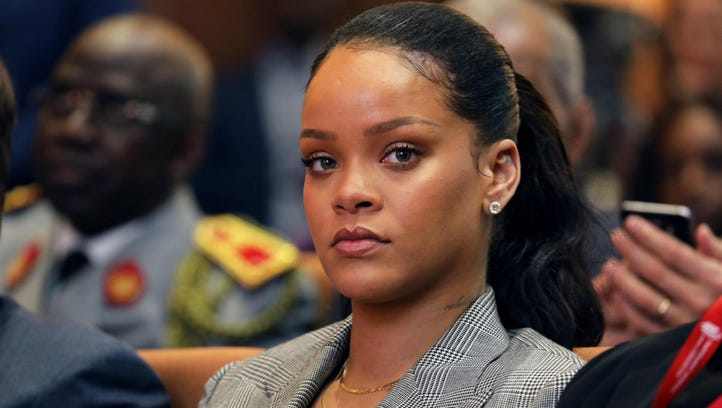 Singer Rihanna has spoken out about domestic abuse,