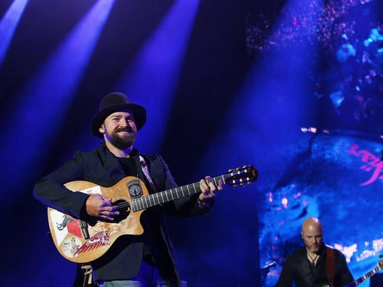 Zac Brown will perform with the Zac Brown Band on Sept. 13 at Klipsch Music Center.