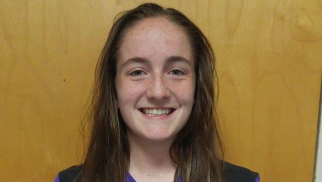 Smoky Mountain sophomore Lucy Miller.