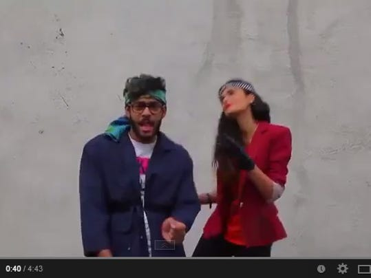 Happy in Tehran video