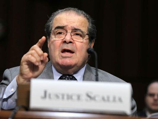 Supreme Court Justices Scalia And Breyer Testify Before Senate Judiciary Cmte