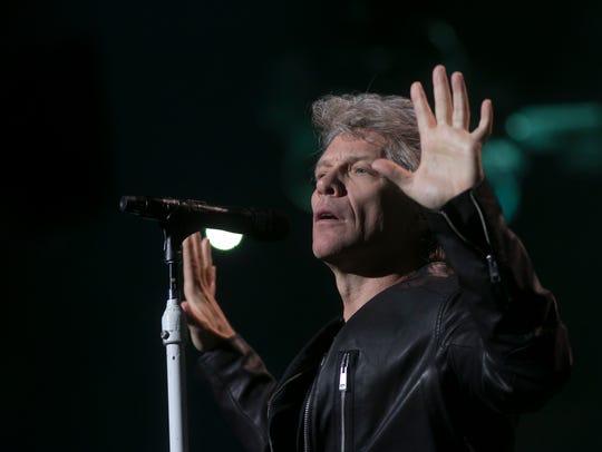 Jon Bon Jovi performs at Talking Stick Resort Arena,