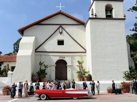 One of the places not to miss in downtown Ventura is the San Buenaventura Mission.