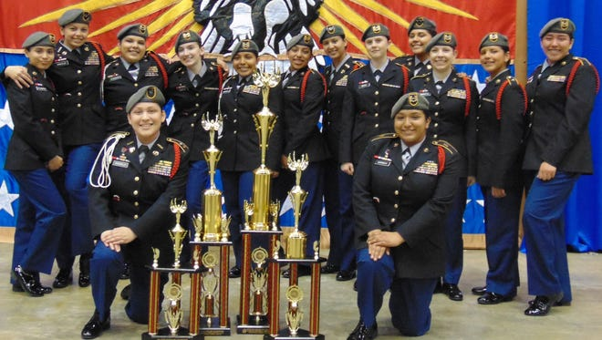 The Lady Vikings bring home four trophies from the 2017 National High School Drill Team Championships in Daytona Beach, Florida, including second-place overall.