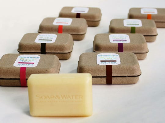 Proceeds from Soap & Water support clean water programs.