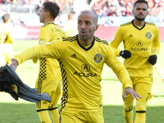 USP MLS: COLUMBUS CREW AT TORONTO FC S SOC TFC CAN ON