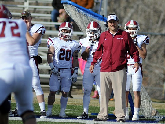 Jay Long is 27-9 in his fourth season as Chadron State head coach.