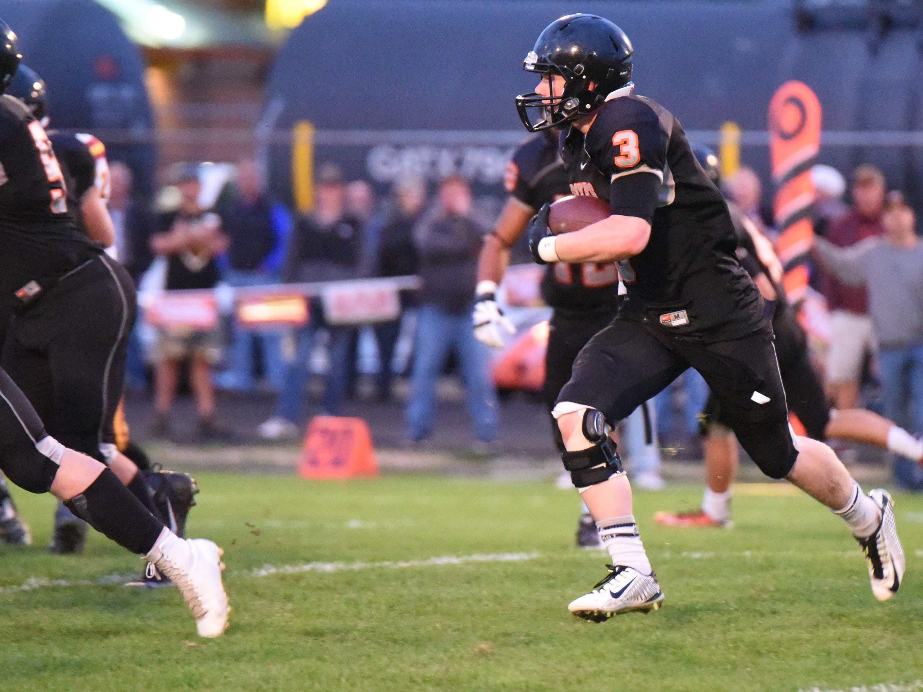 Silverton High School plays its homecoming game against Crescent Valley with an enthusiastic crowd on Friday Sept. 25.