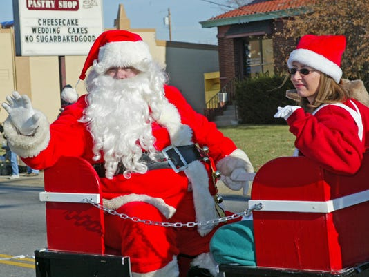 Price hill parade santa