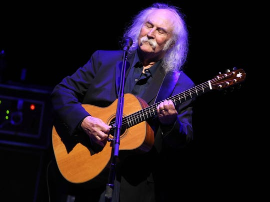 David Crosby performs at the 2nd Light Up The Blues Concert — An Evening Of Music To Benefit Autism Speaks in 2014 in Los Angeles, California.