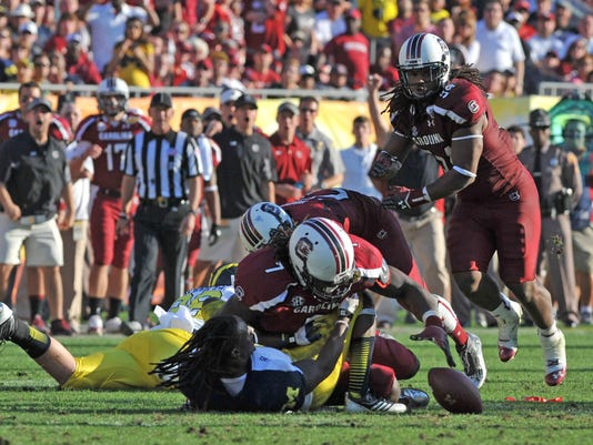 Outback Bowl - South Carolina v Michigan
