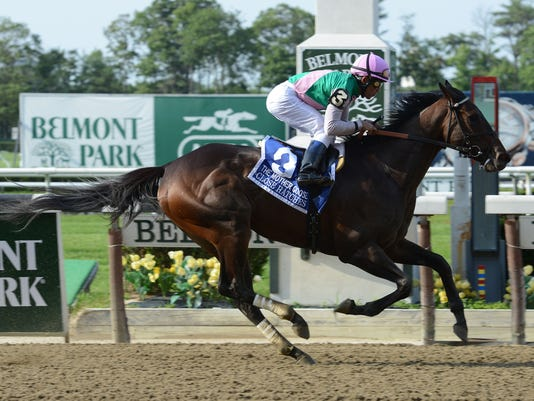 Belmont Mother Goose Horse Racing