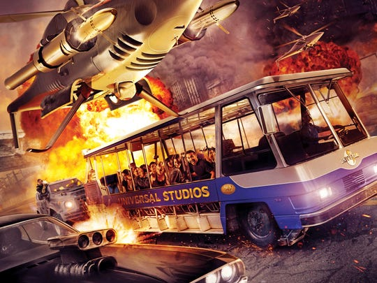 "Universal Hollywood's new thrill ride, ""Fast & Furious--Supercharged,"" debuts on June 25."