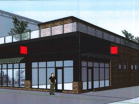 Design plans for the former Copper Lounge site filed
