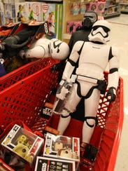Scenes from the Share The Force Friday Star Wars event at the Super Target in Fort Myers on Black Friday in 2015. This year, Black Friday sales have already begun as retailers change strategy to offer discounts over a longer time frame.
