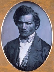 American abolitionist leader Fredrick Douglass, shown in this rare Daguerreotype, taken circa 1847/52 by Samuel J. Miller, is from the permanent collection of the Chicago Art Institute.