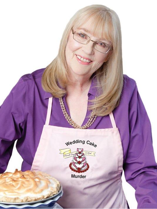 Book column author photo Joanne Fluke wedding cake murder
