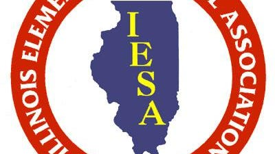 Illinois Elementary School Association (IESA) logo.