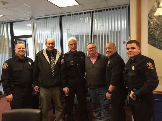 Linden police retirees