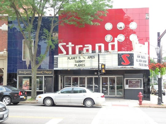 The Strand Theater is a throwback to nostalgic times.