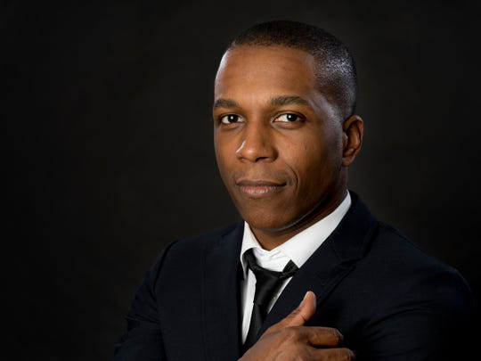 "Leslie Odom, Jr. turns from plays to prose with his debut book ""Failing Up."""