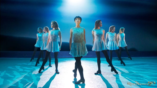 A number from Riverdance - The 20th Anniversary World Tour, Coming to the Montgomery Performing Arts Centre.