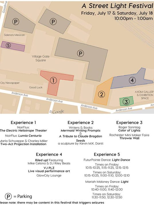 Let Us Show You A Street Light Festival This Weekend - Street light map us