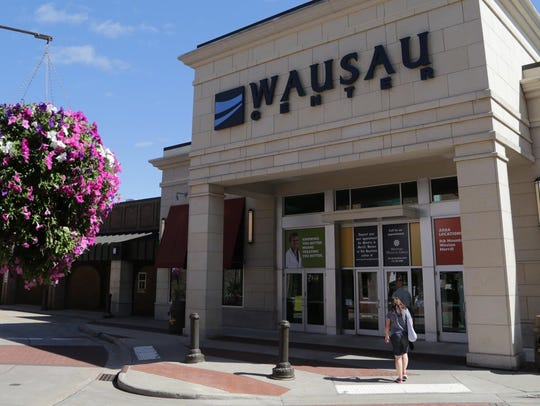 The Wausau Center mall, shown here in a July 2013 file