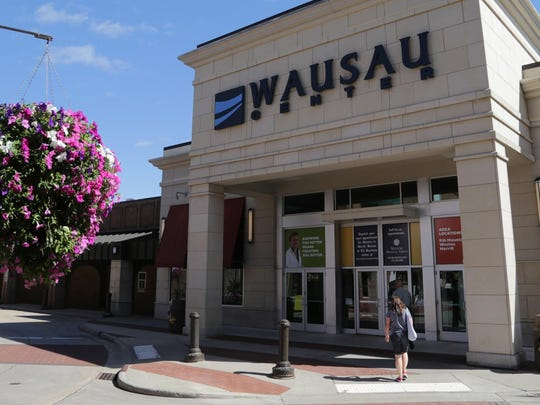 The Wausau Center mall, shown here in a July 2013 file photo, has been the retail anchor in downtown Wausau since 1983.
