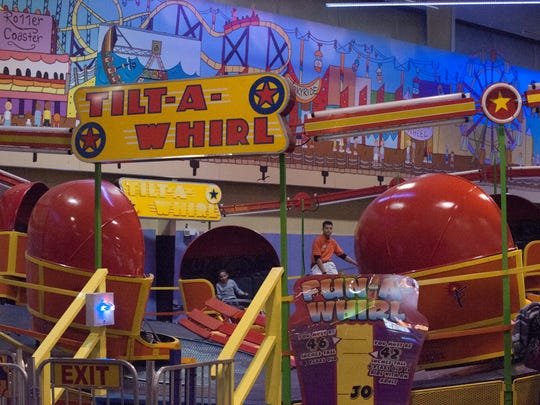 "The Funplex interior of the new  Mount Laurel ""BoardWalk"" room/section."