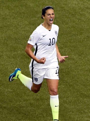 Since giving midfielder Carli Lloyd more freedom, the