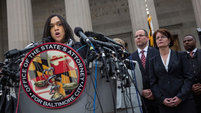 Baltimore City State's Attorney Marilyn J. Mosby