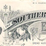 This letterhead was used by Weller and Leathers when invitations were sent to volunteer militia to participate in the militia competition at the Southern Exposition in Louisville in 1884.