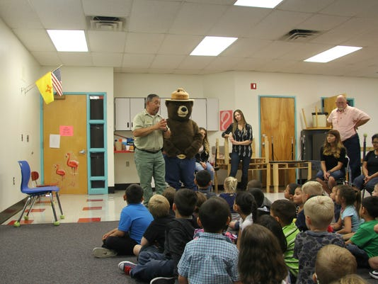 Smokey Bear at ECEC