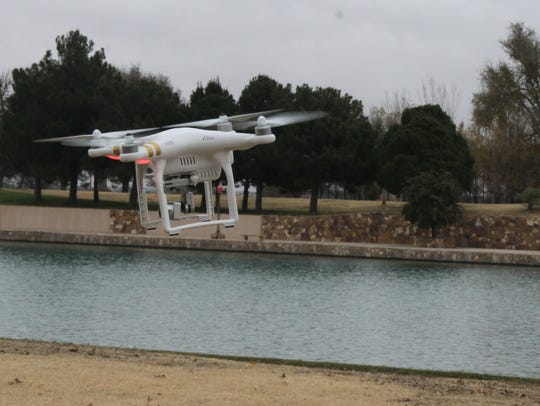 A Phanton 2 drone will be used by emergency personnel