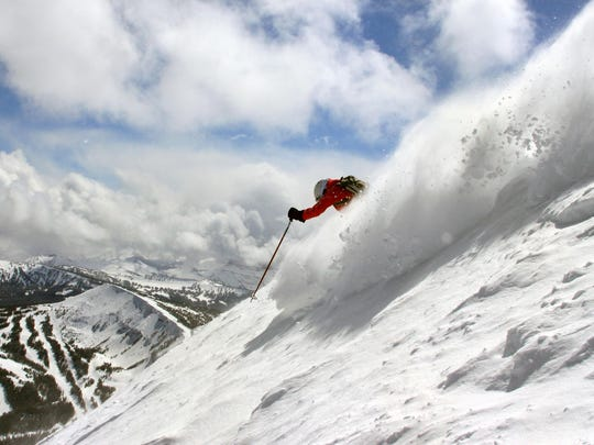 Big Sky Resort offers great opportunities for downhill skiers.