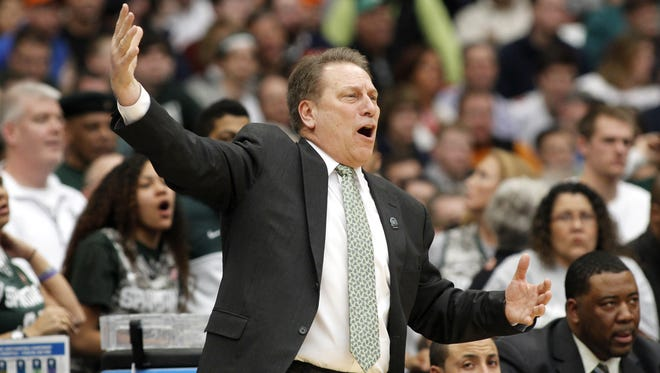 Michigan State coach Tom Izzo is almost as excited about The Read Option's bracket challenge as he is about his Spartans making the Final Four.