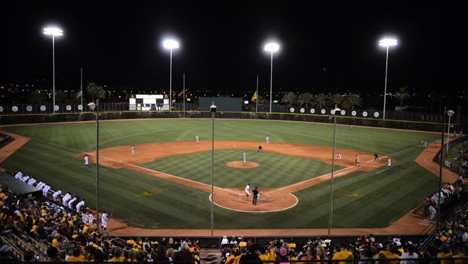 ASU is playing its final season of baseball at Packard Stadium in Tempe in 2014.
