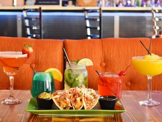 Tasty tacos are always on tap at Tequila N Tacos in