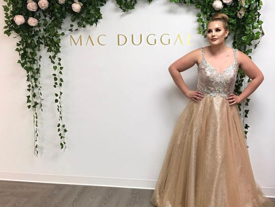 Brianna Fillweber was named the 2017 Mac Duggal Face