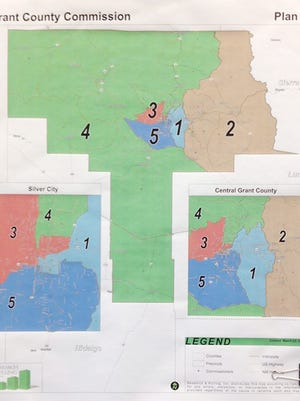 The Grant County Board of County Commissioners adopted Plan A as the redistricting map for the new five-member commission.