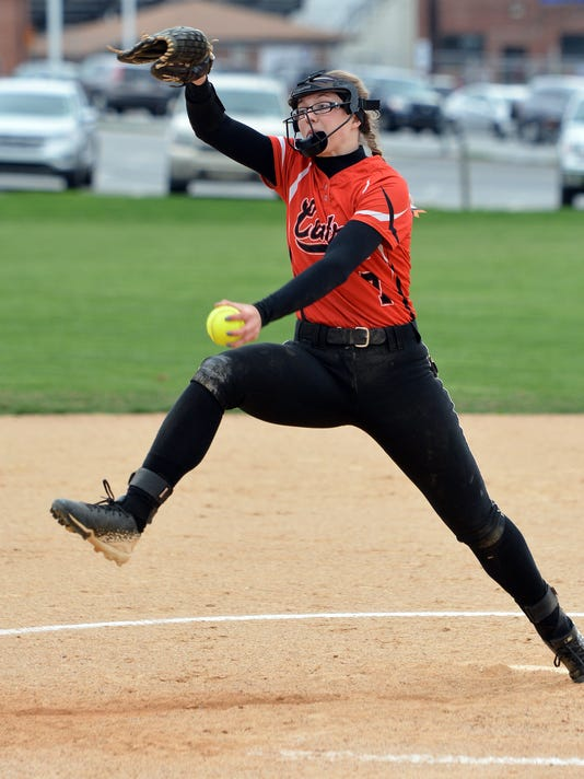 Central York vs Dallastown softball
