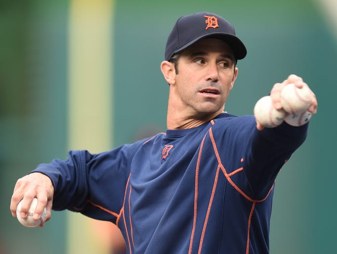 Brad Ausmus was Tigers manager in 2014-17. Here's a