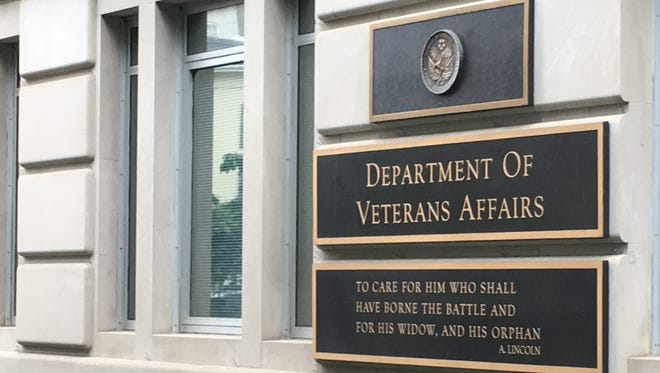 The Washington, D.C., headquarters of the U.S. Department of Veterans Affairs.