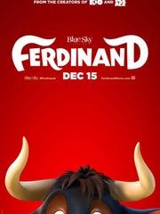 Ferdinand movie poster.
