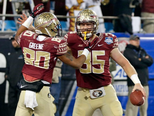 Nick O'Leary, Rashad Greene