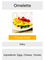 Teen develops an app for those afflicted with food allergies a screenshot from the allergen cookbook an app prototype designed to simplify the cooking forumfinder Gallery
