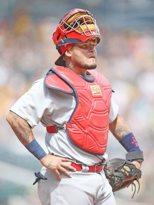 Yadier Molina has spent his entire 14-year career with the Cardinals.