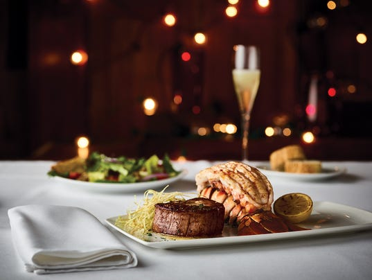 Fleming's Steakhouse Valentine's Day menu