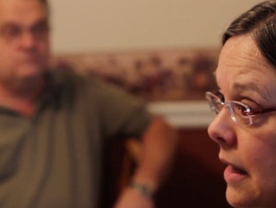 Nancy Jo and David Gibson of Waynesboro talk about